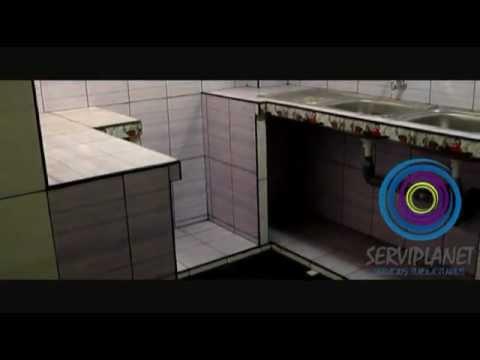 Gabinetes de cocina en cemento videos videos for Modelos de gabinetes de cocina en concreto