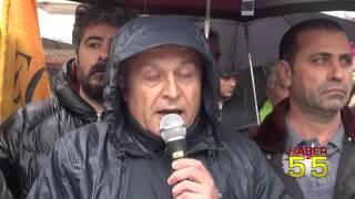 SAMSUN'DA EĞİTİM-SEN'DEN KHK TEPKİSİ!
