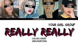 Video [YOUR GIRL GROUP] REALLY REALLY (ORIGINAL WINNER) (cover Dreamcatcher) {4 Members ver.} MP3, 3GP, MP4, WEBM, AVI, FLV Januari 2019