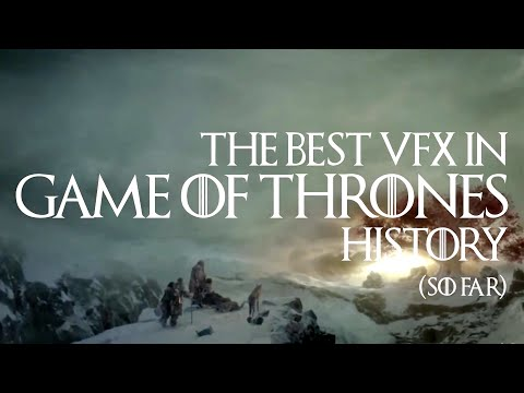 The evolution of Game of Thrones Visual Effects