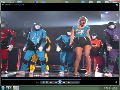 Billboard music awards - Taylor Swift Performs with the JABBAWOCKEEZ !!!