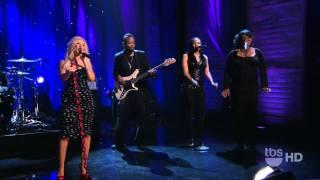 [1080p] Christina Aguilera - Something  Got A Hold On Me (Conan -22.11.2010)
