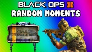 Black Ops 2 Funny Moments - POO Map, Trolling Delirious, Rage Reactions, Flak Jacket! (Funtage)