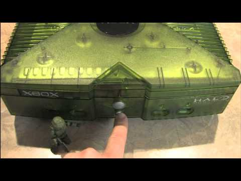 Classic Game Room - HALO SPECIAL EDITION XBOX Console Review
