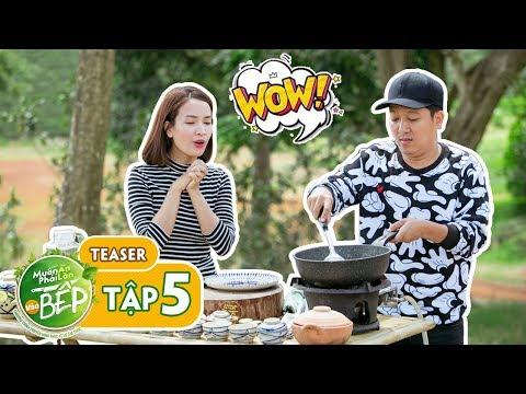 Teaser #5 | Ái Phương trầm trồ trước tài nghệ bếp núc của Giang Ca | Muốn Ăn Phải Lăn Vào Bếp - Thời lượng: 2 phút và 2 giây.