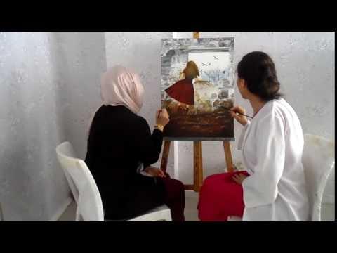 310 MERYEM KIZILYER PIRLAK RESİM KURSU TÜRKİYE ADANA