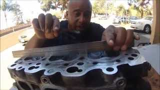 Video HOW TO RESURFACE A WARPED CYLINDER HEAD AT HOME WITH SAND PAPER MP3, 3GP, MP4, WEBM, AVI, FLV Juni 2019