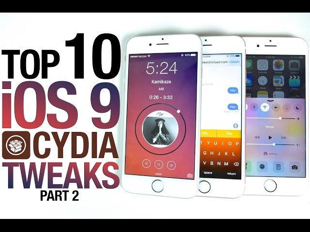 how to download ios 9 tweaks on ios8