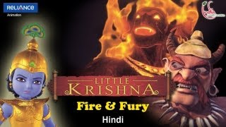Video Little Krishna Hindi - Episode 5 Pralambasura and the Fire Demon MP3, 3GP, MP4, WEBM, AVI, FLV November 2018
