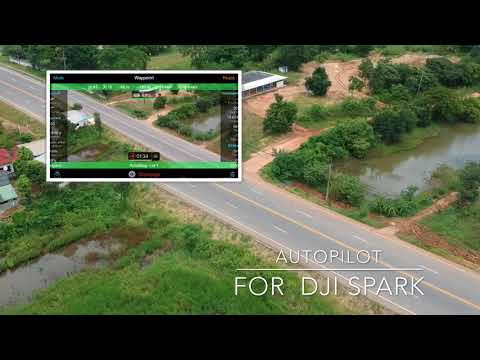 Dji Spark  Waypoint autopilot