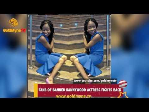 FANS OF BANNED KANNYWOOD ACTRESS RAHAMA SADAU FIGHT BACK