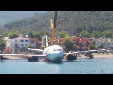 Airbus A300 is sunk off Turkey to become artificial reef