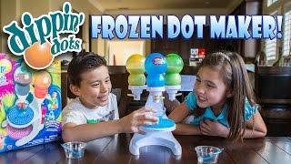 DIPPIN' DOTS Frozen Dot Maker with Pop Pens! FUN & FAILS!