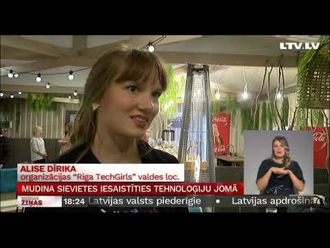 """Pirmā Vidzeme TechGirls tikšanās Valmierā """"Mans ceļš IT"""""""