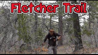 Running The Fletcher Trail Peak Mount Charleston Las Vegas - YouTube