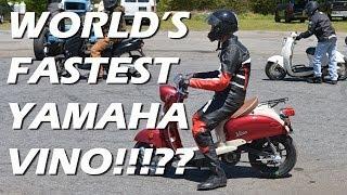 10. World's Fastest Yamaha Vino Scooter
