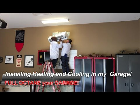 Installing Heating and Cooling in my Garage!