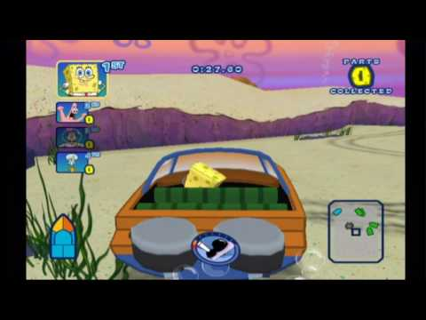 Spongebob's Boating Bash (Wii) Destruction Race
