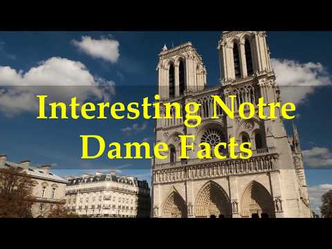 Interesting Notre Dame Facts