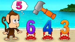 Monkey Math School Sunshine allows your child to build fundamental math skills while they are endlessly entertained. Your child will count, add and sort thei...