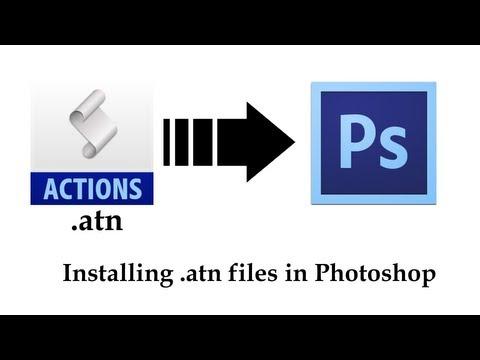 comment installer atn photoshop