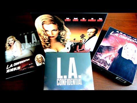 L.A. CONFIDENTIAL Triple Steelbook Box Set Blu-Ray HDZeta Unboxing Basinger Crowe
