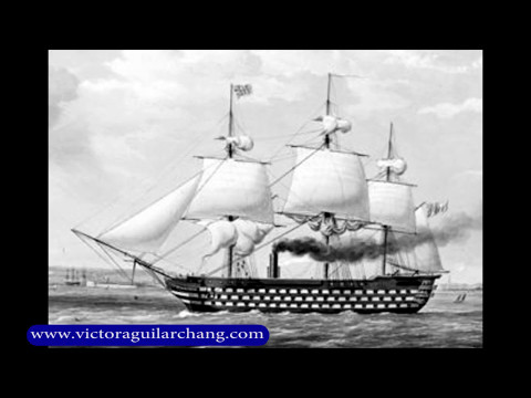 "Mis videos. ""El arribo de los barcos blindados a Occidente (1850)"""