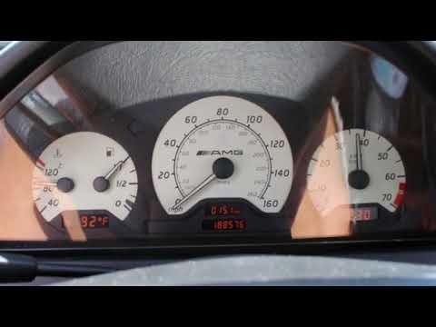 1999 Mercedes-Benz C43 AMG W202 Start Up & Rev - Stock Exhaust