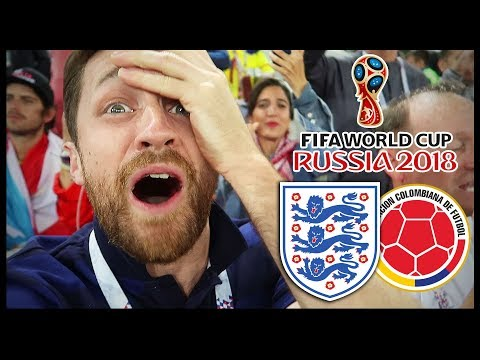ENGLAND Vs COLOMBIA! CRAZY GAME! - RUSSIA WORLD CUP 2018