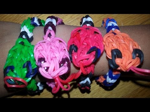 RAINBOW LOOM SNAKE BRACELET – How to make