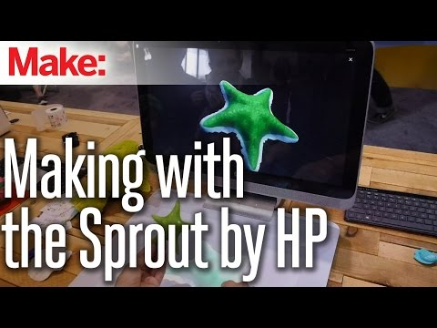 , title : 'Making with the Sprout by HP'