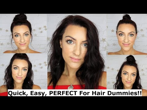Easy hairstyles - Quick, Easy, Mum Friendly Hairstyles  My go-to School Run Hairstyles