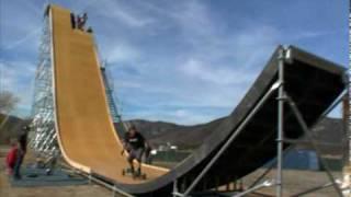 Nitro Circus -  Exclusive Nitro Mega Ramp training footage