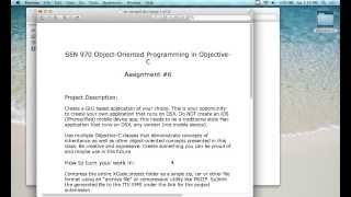 Fall 13-2 Objective-C - Lecture 15