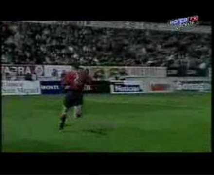 Presentación de Gaby Milito en el Barça