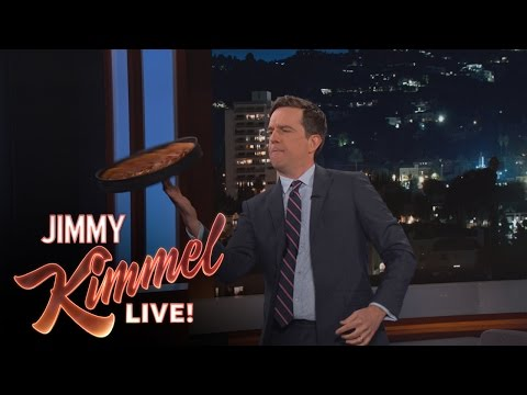 Ed Helms Shows Off His Spinning Skills on Jimmy Kimmel