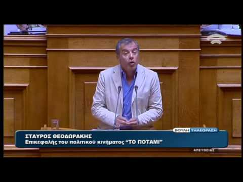 Η ομιλία του Στ. Θεοδωράκη στη συζήτηση για τις offshore