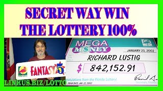 How To Win The Lottery - The Secret Way Win 100% Guaranteed ---------CLICK HERE: http://linkus.biz/lotto---------- I have won 7 lottery game grand prizes, in...