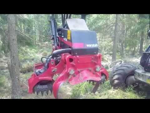 Waratah H414 On Rottne H14b (видео)
