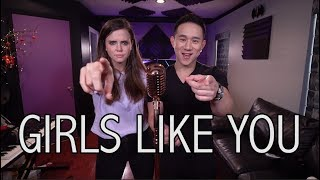 Video Girls Like You - Maroon 5 ft. Cardi B (Jason Chen x Tiffany Alvord) MP3, 3GP, MP4, WEBM, AVI, FLV Agustus 2018