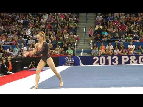MyKayla Skinner - Floor Exercise - 2013 P&G Championships - Sr. Women - Day 2