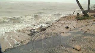 Huracán María azota con vientos fuertes Las terrenas