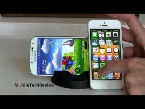 iphone - Lisa Gade compares the Samsung Galaxy S4 and the iPhone 5. Don't forget to watch our video reviews of these phones too. And our full written reviews are here...