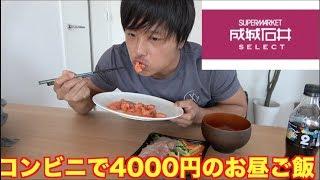 【成城石井】普段絶対買わない高級コンビニ食品で最高のお昼ご飯作ってみた!!