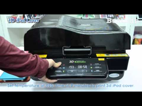 How to use 3D sublimation vacuum machine from BestSub