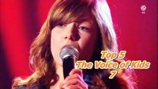 Video Top 5 - The Voice of Kids 7 MP3, 3GP, MP4, WEBM, AVI, FLV Oktober 2018