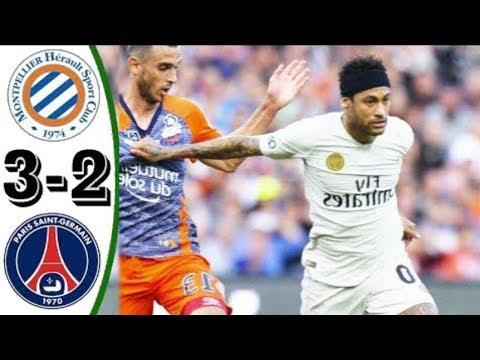 Montpellier vs PSG 3-2  Ligue 1  29/04/2019