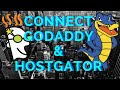 Connect Godaddy Domain with Hostgator Hosting Account 2015/2016