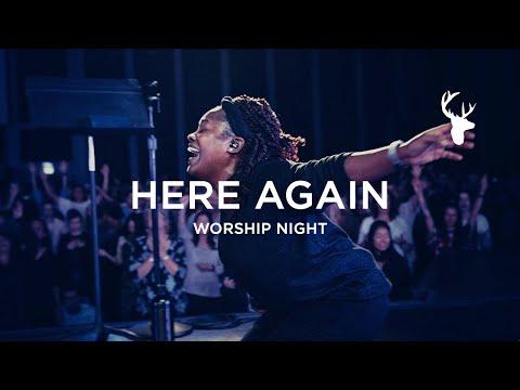 Rheva Henry - Here Again (Spontaneous - I Want More) | Worship Night