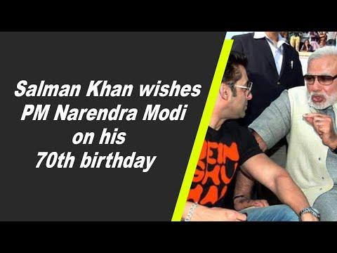 Salman Khan wishes PM Narendra Modi on his 70th birthday
